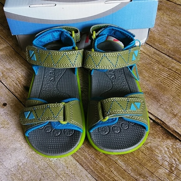 See Kai Run Jetty Green Sandals